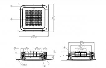 Nordic-4-kryptės-kasetės-vidinis-blokas-10.0-11.2-kW-vienfazis-įrenginys