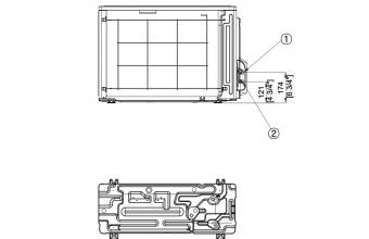 Nordic-mini-4-kryptės-kasetės-išorinio-bloko-brėžinys-2.6-3.4-kW-3