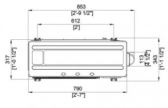 Nordic-mini-4-kryptės-kasetės-išorinio-bloko-brėžinys-2.6-3.4-kW