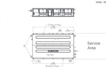 Nordic-7.1-8.0-kW-kanalinio-kondicionieriaus-vidinis-blokas
