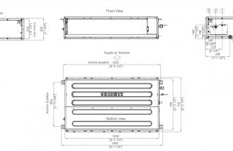 Nordic-10.0-11.2-kW-kanalinio-kondicionieriaus-vidinis-blokas-vienfazis-įrenginys-2