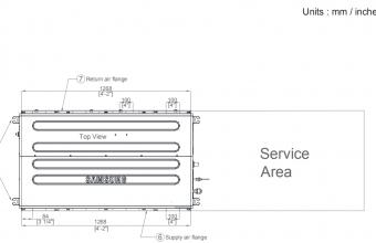 Nordic-10.0-11.2-kW-kanalinio-kondicionieriaus-vidinis-blokas-vienfazis-įrenginys