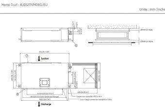Multi-split-kanalinio-brėžinys-5.2-5.6-kW
