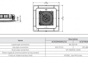 4-kryptės-bevėjės-kasetės-vidinio-bloko-brėžinys-5.00-6.00-kW-2