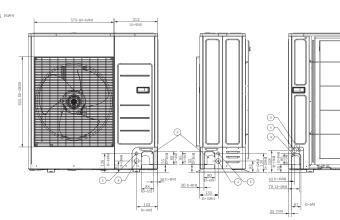 4-kryptės-bevėjės-kasetės-išorinio-bloko-brėžinys-10.0-11.2-kW-vienfazis-įrenginys-2
