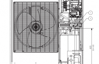 4-kryptės-bevėjės-kasetės-išorinio-bloko-brėžinys-12.00-13.20-kW-trifazis-įrenginys-3
