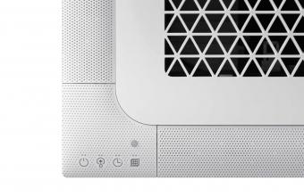Samsung-bevėjės-mini-4-kryptės-6.8/7.5-kW-kasetės-vidinis-blokas-iš-arti