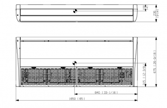 Palubinio-kondicionieriaus-vidinio-bloko-vrėžinys-AC140RNCDKG-3