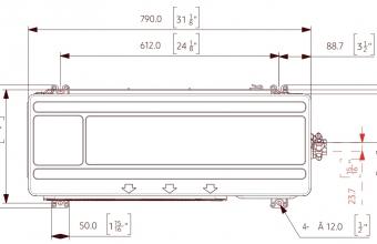 Nordic-Range-Comfort-išorinio-bloko-brėžinys-3.50-4.00-kW