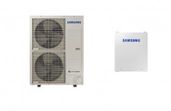 SAMSUNG 12.0/12.0kW oras-vanduo monobloko komplektas su R32 freonu ir valdymo automatika (trifazis įrenginys be tūrinio šildytuvo)