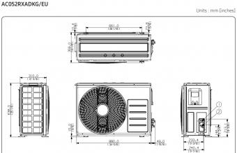 AC052RXADKG-išorinio-bloko-brėžinys