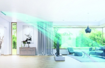 1-way long wind POD in living room lifestyle image