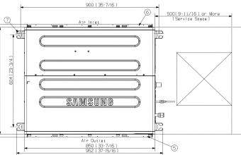 Vidutinio-slėgio-kanalinio-kondicionieriaus-vidinis-blokas-3.5-4.0-kW
