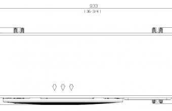 Vidutinio-slėgio-kanalinio-kondicionieriaus-išorinio-bloko-brėžinys-5.8-7.0-kW