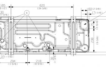 Vidutinio-slėgio-kanalinio-kondicionieriaus-išorinio-bloko-brėžinys-9.0-10.0-kW-trifazis-įrenginys-4
