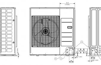 Vidutinio-slėgio-kanalinio-kondicionieriaus-išorinio-bloko-brėžinys-12.0-13.0-kW-trifazis-įrenginys-2