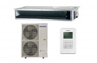 Kanalinis-vidutinio-slėgio-13.4-15.5-kW-oro-kondicionieriaus-komplektas-vienfazis