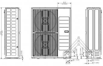 Kanalinis-vidutinio-slėgio-13.40-15.50-kW-oro-kondicionieriaus-komplektas-trifazis-įrenginys-2