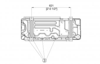Aukšto-slėgio-kanalinio-kondicionieriaus-išorinio-bloko-brėžinys-18.0-20.0-kW-3